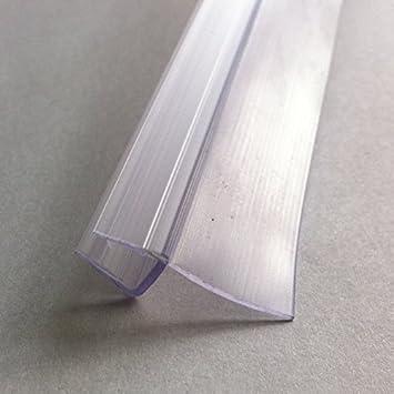 HNNHOME - Junta para puerta de cristal de ducha (válida para puertas con grosor de 4 a 6 mm y huecos de hasta 16 mm)
