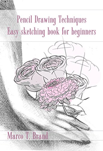 Pencil Drawing Techniques Easy Sketching Book For Beginners