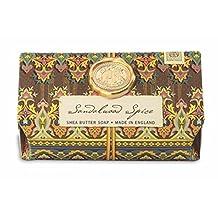 Michel Design Works Sandalwood Spice Oversized Triple Milled Bath Soap Bar