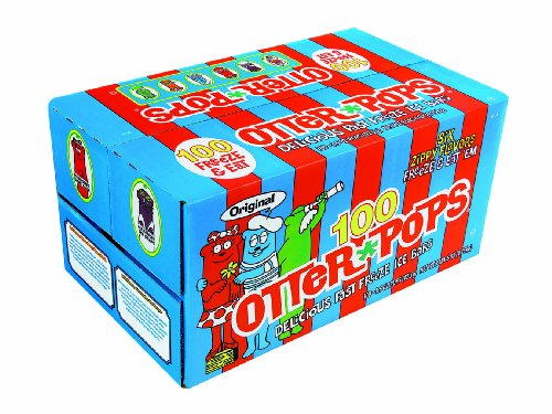 Otter Pops Assorted Flavors, 100-Count