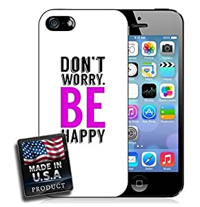 Don't Worry Be Happy iPhone 5/5s Hard Case