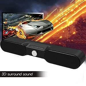 WHCCL Barra de Sonido, Altavoces Bluetooth portátiles de Dos ...