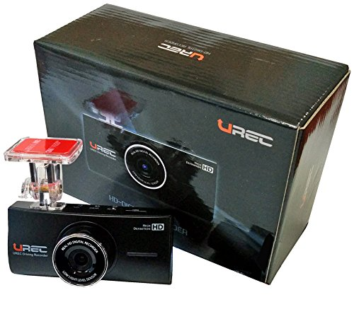 UREC High-Definition Driving Recorder - Front Camera Only