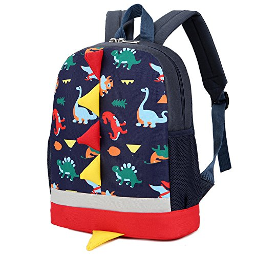 FORUU Bags, 2019 Best Gift For Mother Lover Girlfriend Wife Trendy Stylish Unisex Baby Boys Girls Kids Dinosaur Pattern Animals Backpack Toddler School Bag (Best Baby Backpacks 2019)