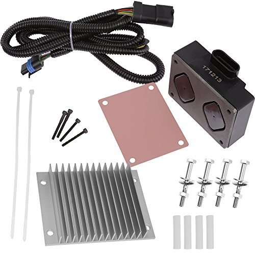 Hoypeyfiy Fuel Pump Driver Module PMD and Relocation Kit Set for 1995-2002 Chevy GMC 6.5L Diesel Engines Part #r: 12562836,19209057 ()