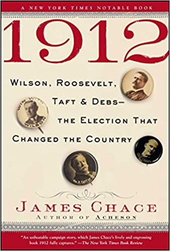 how did wilson win the election of 1912