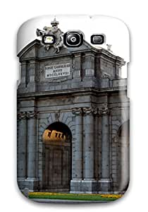 Vicky C. Parker's Shop New Style 2236449K44612251 Awesome Puerta De Alcal?? Flip Case With Fashion Design For Galaxy S3