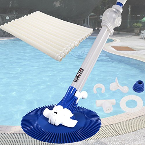 Sds Automatic Inground Above Ground Swimming Pool Cleaner Vacuum Hose Climb Wall Automatic
