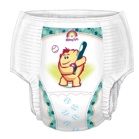 Youth Training Pants Curity Pull On Medium Disposable Heavy Absorbency ()