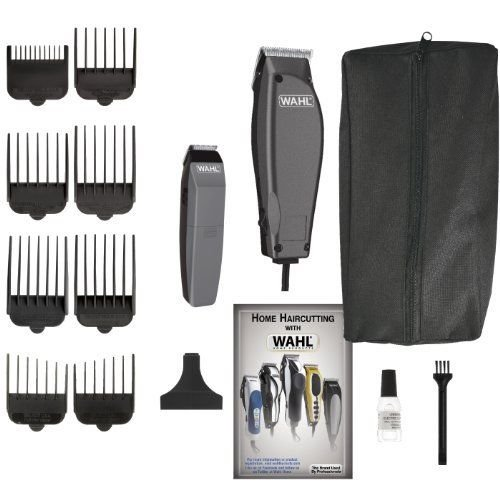 Wahl Combo Pro Home Haircutting Complete Kit Haircut Clippers & (Home Pro Hair Clipper)