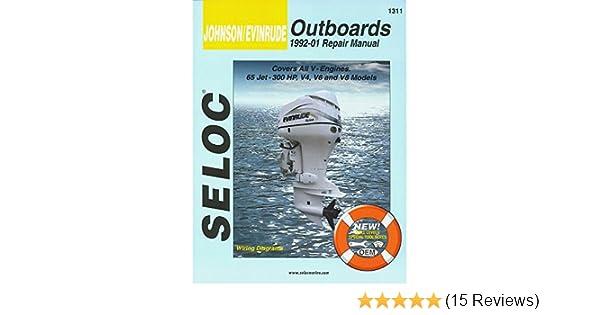 Johnson 92 01 65 300hp outboard workshop repair manual repair workshopmanual download 1992 1993 19941995 array amazon com johnson evinrude outboard v4 v6 u0026 v8 1992 2001 rh amazon com fandeluxe Gallery