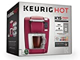 Keurig K15 Coffee Maker, Single Serve K-Cup Pod