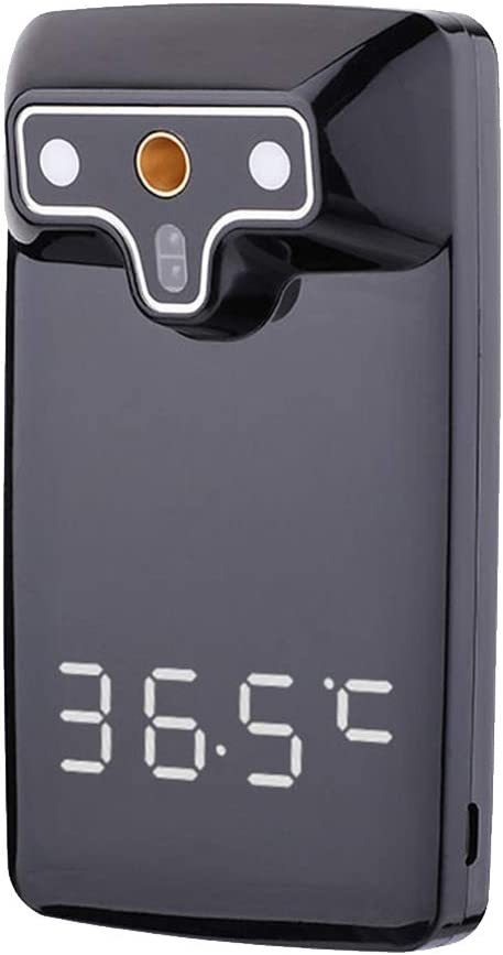 LUNAH Termos//medidors Digital infrarrojo Sensor infrarrojo Pantalla LED Term/ómetro Digital Transmisi/ón de Voz Sin Contacto