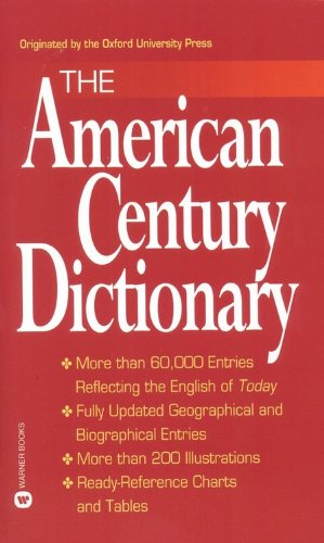 The American Century Dictionary [Urdang, Laurence] (De Bolsillo)