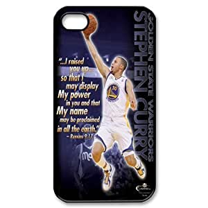 James-Bagg Phone case Basketball Super Star Stephen Curry Protective Case For Iphone 4 4S case cover Style-15