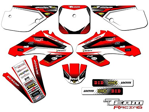 Team Racing Graphics kit compatible with Honda 2001-2003 XR 70, ANALOG