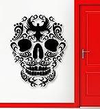 ChrisGDodge Wall Sticker Home Decor Bird Skull Pattern Tattoo Cool Room Decor