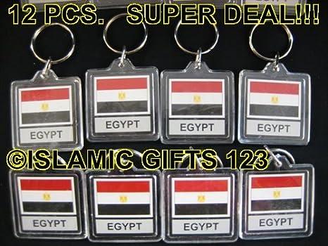 Bandera de Egipto llavero --- Nueva Bandera -- 12pcs- Super ...