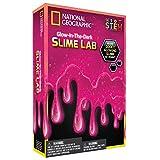 National Geographic Slime DIY Science Lab – Make Glowing Slime (Pink)