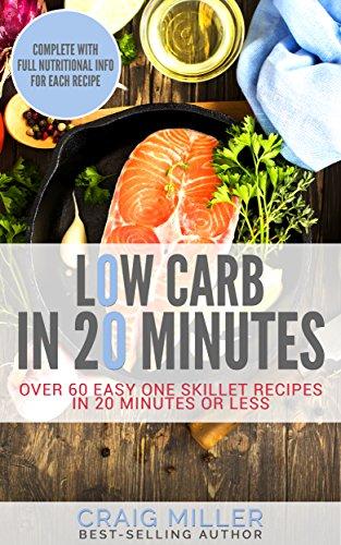 Low Carb Minutes Cookbook Cookbooks ebook