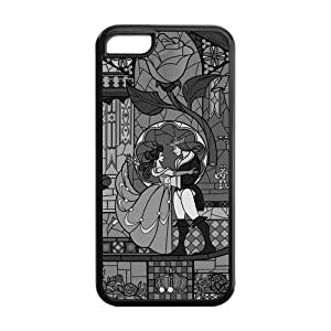 1pc Rubber Snap On Case Cover Skin For iphone 6 4.7'', Beauty And The Beast iphone 6 4.7'