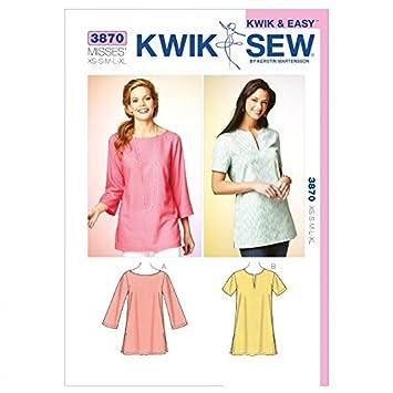 Kwik Sew Damen Schnittmuster 3870 – Top (O/S): Amazon.de: Küche ...