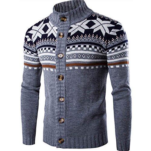 [해외]2017가을 겨울 패션 민속 사용자 정의 긴 소매 카디 건 뜨개질 스웨터 남성 / 2017 Autumn Winter Fashion Folk Custom Long Sleeve Cardigan Knitting Sweater For Men