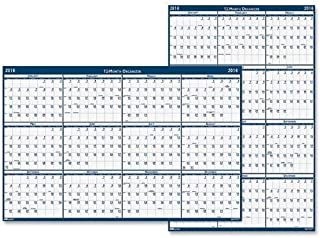 "product image for House of Doolittle Dated 66"" Laminated Wall Planner"