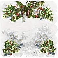 Bodas Ideales para Navidad FINIVE 5 Paquetes de 100 servilletas de Papel para Novio o Novio d/ía de San Patricio Fiestas