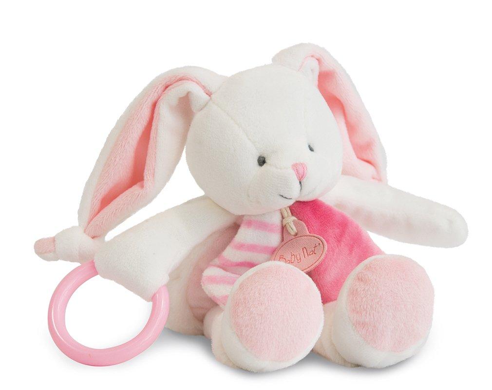 Baby nat' Les Tendres Pantin d'Activité Forme Lapin Rose BABY NAT' BN0102