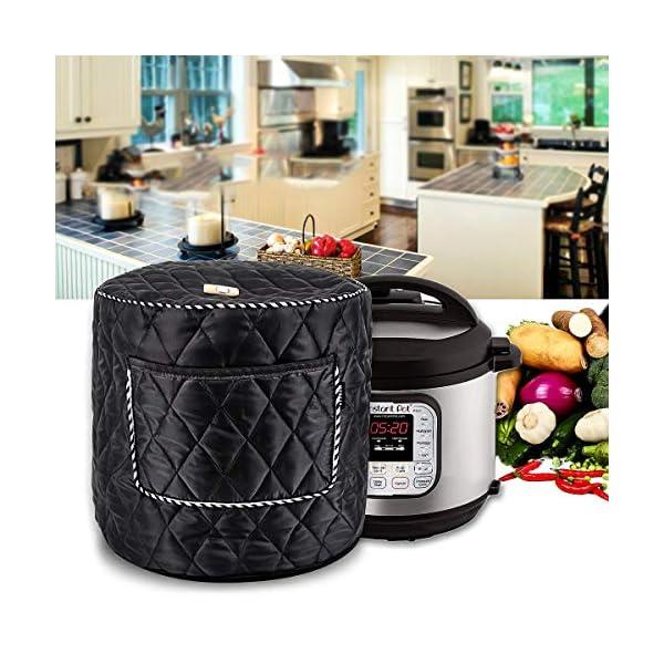 6QT/8QT Electric Pressure Cookers Decorative Pocket Electric Pressure Pot Dust Cover Small Kitchen Appliances… 3