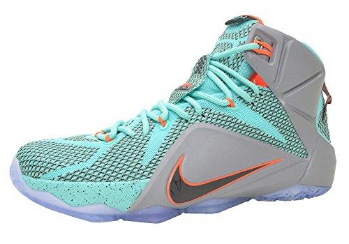 NIKE MENS LEBRON XII SNEAKER Medium Green - Footwear/Sneakers 11
