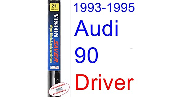 Amazon.com: 1993-1995 Audi 90 Wiper Blade (Driver) (Saver Automotive ...