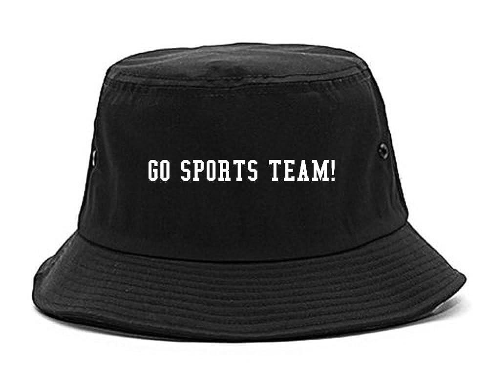 Amazon.com  FASHIONISGREAT Go Sports Team Bucket Hat Black  Clothing 2149d9fec78