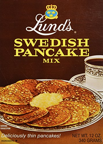 Elite Systems Lunds Pancake Mix, Swedish, 12 Ounce