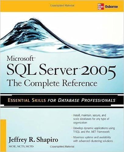 Microsoft Sql Server 2005 The Complete Reference Pdf