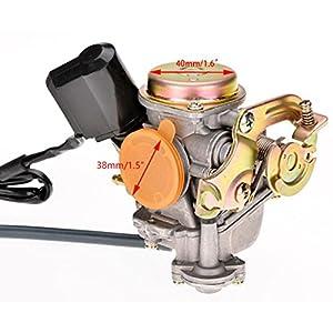 Kaluo 55CC GY6 Scooter ATV Moped PD18J Carburetor Fuel System Carburetor