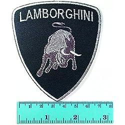 Lamborghini Racing Sport Automobile Car Motorsport Racing Logo Patch Sew Iron on Jacket Cap Vest Badge Sign