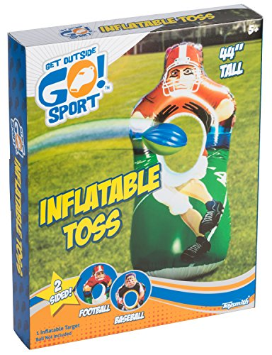 Toysmith Get Outside GO! Inflatable Sports Toss Game -