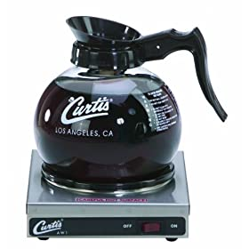 Wilbur Curtis Decanter Warmer 1 Station Warmer – Hot Plate to Keep Coffee Hot and Delicious  – AW-1-10 (Each)
