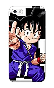 Awesome Kid Goku Flip Case With Fashion Design For Iphone 5/5s by supermalls