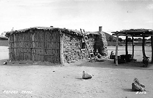Excellent Papago Home Real Photo Indian Postcard At Amazons Beutiful Home Inspiration Ommitmahrainfo