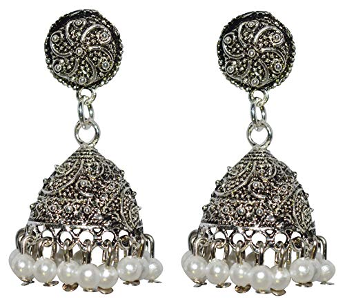 Kolet Stylish Designer Fashion Wear E116 Alloy Jhumki Earring
