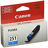 Kyпить Canon CLI-251 Cyan Ink, Compatible to MX922,MG7520,MG7120,MG6620,MG5620,iP8720,MG6420,MG6320 and MG5420 на Amazon.com