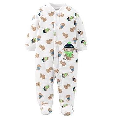 Amazon Com Carters Newborn Baby Boy Sleeper Sleep N Play Micro