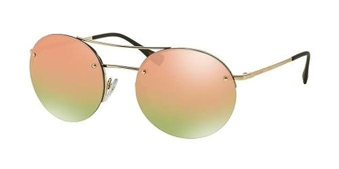 b05da370c Prada Linea Rossa PS 54RS Sunglasses Pale Gold/Blue Gradient 56mm &  Cleaning Kit Bundle