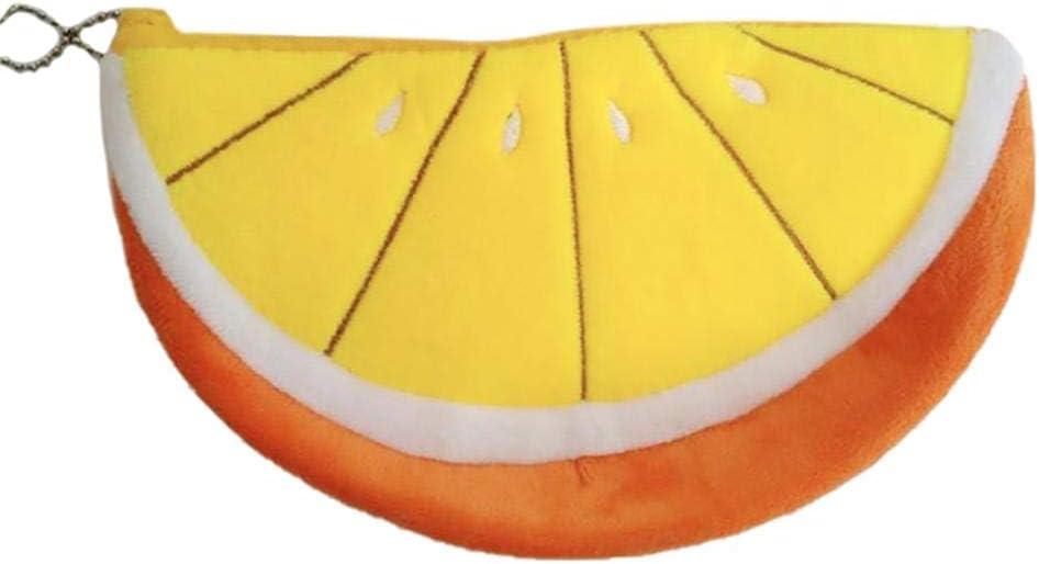 Wisilan - Estuche de goma EVA para lápices y bolígrafos (gran capacidad), diseño de frutas, color verde, color naranja 20 * 11CM: Amazon.es: Oficina y papelería