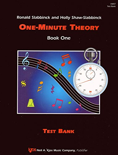 One-Minute Theory For the Choral Music Classroom: Test Blank
