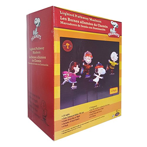 Peanuts Snoopy Outdoor Lighted Christmas Decoration - 9