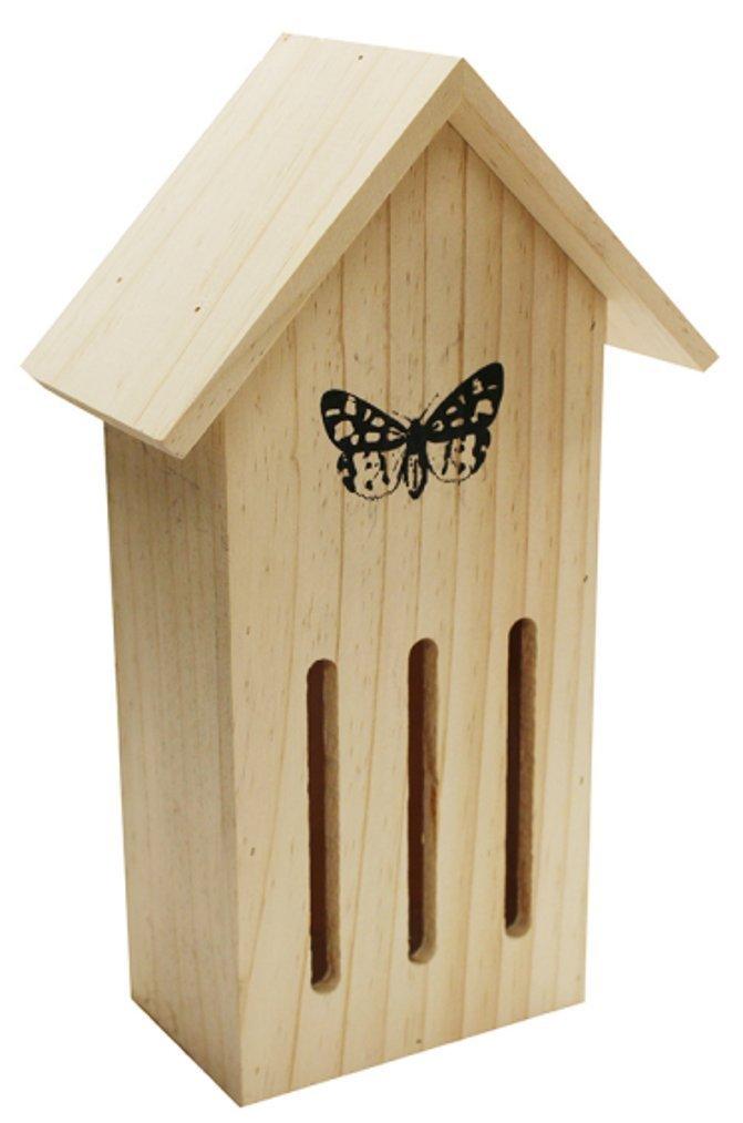 Kingfisher Martín Pescador Pájaro Cuidado de Madera Mariposa Hotel Insectos casa Visor jardín Nido hotel7 Bonnington Plastics